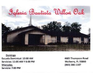 Eglesia Bautista Willow Oak